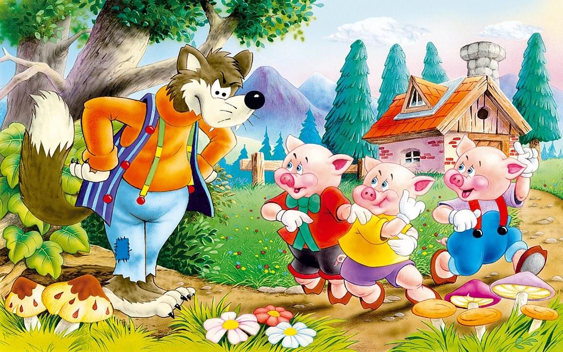 Dia de história – Os Três Porquinhos